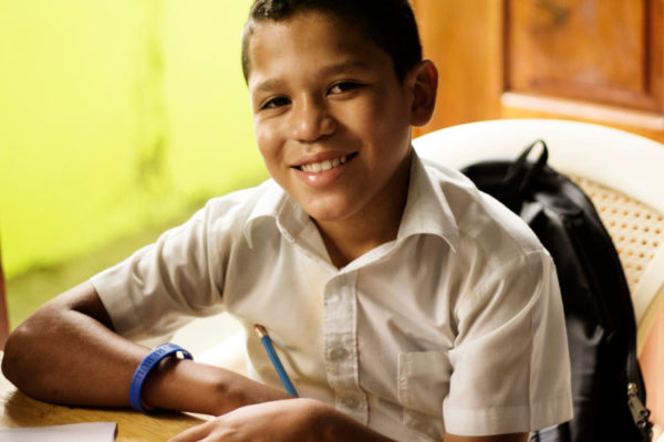 Writing a letter to your sponsored child